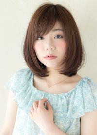 大人のフレンチボブ【シナモンブルージュ】U-28