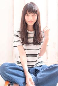 ルーズセミディ【ラベンダーベージュ】U-69