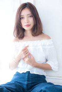ゆるふわ大人ミディ 【ラベンダーベージュ】U-81
