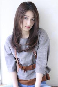 内巻きワンカールセミロング ツヤ髪【y−228】
