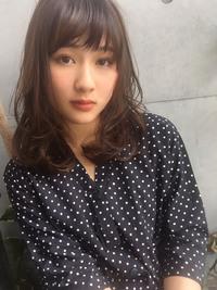 小顔ミディデジタルパーマ【y−255】