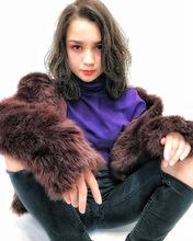 暗髪でも透明感アッシュグレー ハイライト ヘアアレンジ|ALICe by afloatのヘアスタイル