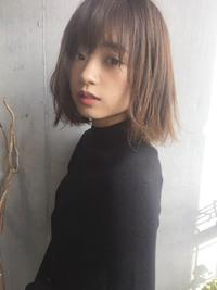 丸顔カバーカジュアル大人ボブ【y−256】