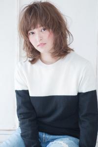 川口春奈風フェミニンレイヤーミックスカールスタイル AKI-236