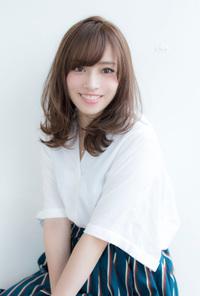 抜け感くびれセミディ【スノーアッシュ】U-125
