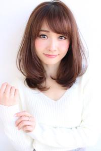 小顔ひし形セミディ【H-528】
