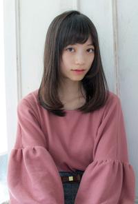 美シルエットの艶髪ワンカール【アッシュグレージュ】U-126