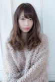 抜け感ゆるふわセミロング【アッシュグレージュ】U-134