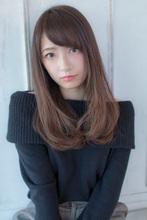 重め艶髪ワンカール【アッシュグレージュ】U-136|ALICe by afloatのヘアスタイル