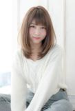 重め艶髪ワンカール【アッシュグレージュ】U-145