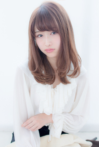 フェミニンくびれカール【ピンクアッシュ】U-152