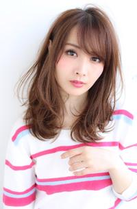 ひし形パーマセミディ【H-579】