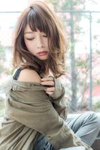 透明感大人カラー春ベージュ【ピンクアッシュ】U-177|ALICe by afloatのヘアスタイル