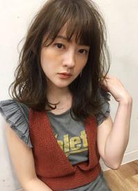オリーブグレージュ夏髪【y−328】