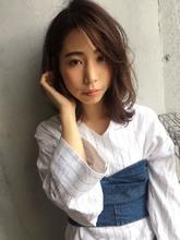 大人カジュアル耳掛けボブ【y−330】|ALICe by afloat 松盛 友美子のヘアスタイル