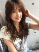 抜け感セミロング☆デジタルパーマ【y−336|ALICe by afloat 松盛 友美子のヘアスタイル