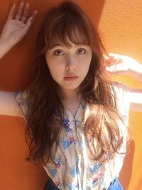 夏はパーマ☆アプリコットカラー【y−351】
