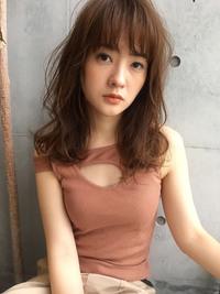 色っぽパーマ♡柔らかミディ【y−359】