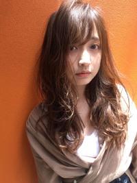 ミルクティー夏の柔らかパーマ【y-366】