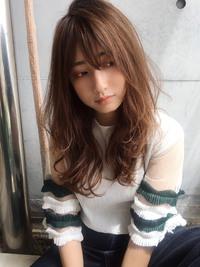 ひし形シルエットで小顔♡大人ロング【y-368】