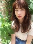 ほつれカールがおしゃれな夏髪【y-369】