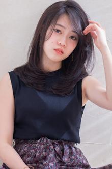 暗髪ツヤワンカール :o300 ALICe by afloatのヘアスタイル
