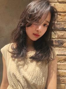 夏髪フェミニン 似合わせカット ブルージュ|ALICe by afloatのヘアスタイル