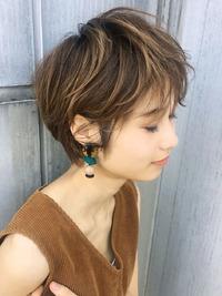 ハイライト 夏髪はショートにキマリ【y-373】
