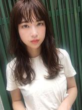 ほつれパーマ夏髪 ダークグレージュ【y−375】|ALICe by afloat 松盛 友美子のヘアスタイル
