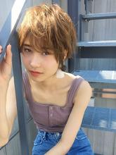 大人マッシュショート ミルクティー【y-376】|ALICe by afloat 松盛 友美子のヘアスタイル