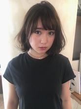 夏髪 フェミニングレージュボブ  ALICe by afloat 伊東 七彩のヘアスタイル