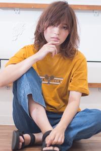 ひし形デジタルパーマフェミニンスタイル AKI-349