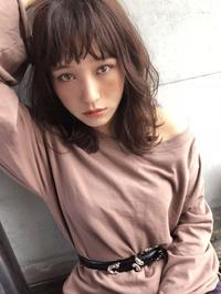 秋色ボルドー カジュアルミディ【y−392】