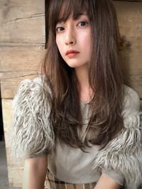 ツヤ髪セミロング  こっくり秋色【yー395】