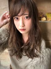 ゆるふわモテはデジタルパーマで【yー397】|ALICe by afloat 松盛 友美子のヘアスタイル