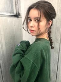 タイトな大人編みおろしヘアアレンジ【N-112】