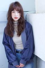 透明感グレージュ☆デジタルパーマ【y−403】|ALICe by afloat 松盛 友美子のヘアスタイル