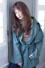 クール大人ロング  デジタルパーマ【y−404】|ALICe by afloat 松盛 友美子のヘアスタイル