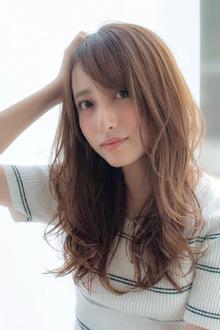大人ラフセミディ【ライラックベージュ】U-202|ALICe by afloatのヘアスタイル