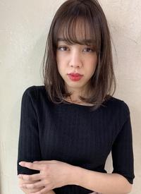 小顔バング 抜け感ワンカール M-216