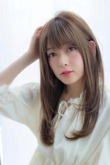女子アナ風ワンカール【シアーグレージュ】U-207|ALICe by afloatのヘアスタイル