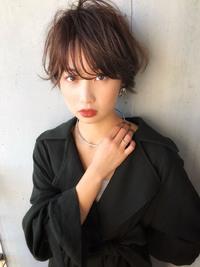ひし形ショート ショコラブラウン【y−416】