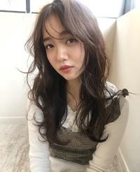 モテ髪韓国風オルチャンバングパーマ19