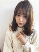 ワンカール大人ロブ【y−428】 ALICe by afloat 松盛 友美子のヘアスタイル
