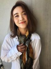 ひし形大人ボブ デジタルパーマ【y−429】 ALICe by afloat 松盛 友美子のヘアスタイル