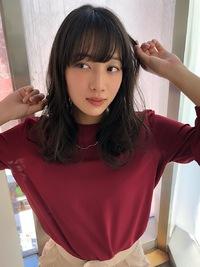 女子アナ風ラフセミディ【シナモングレージュ】U-223