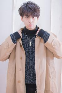 コートにも似合うメンズヘア  AKI-421