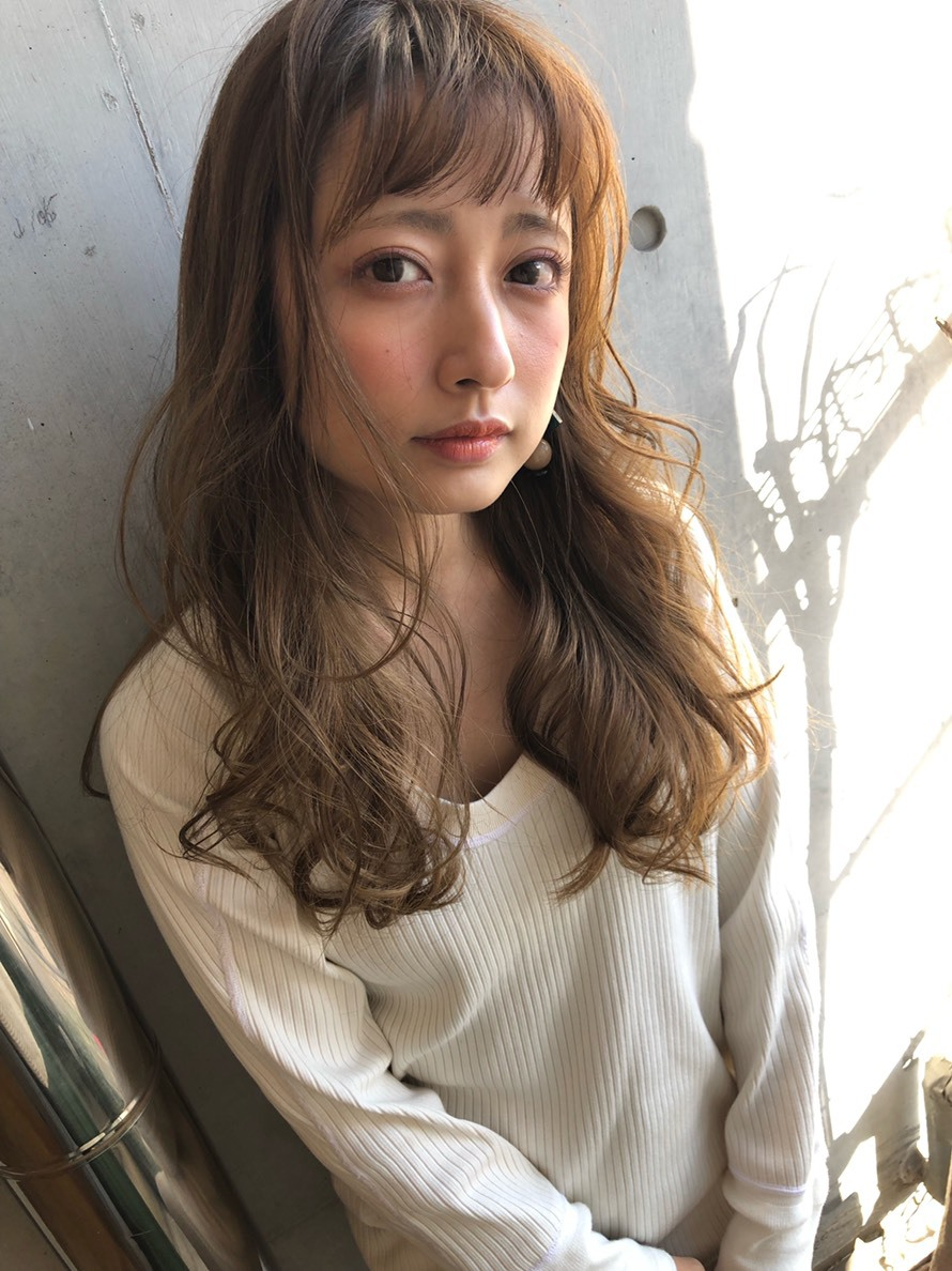 ひし形フェミニン デジタルパーマ【y−434】