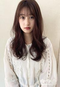 大きめニュアンスパーマ 小顔ヘアM239