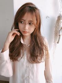 前髪長めパーマA715